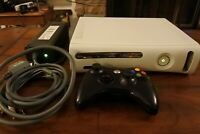 XBOX 360 console - 60GB HDD + WiFi Adapter + BLACK CONTROLLER [WORKS GREAT!]