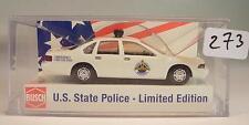 Busch 1/87 Nr. 47672 Chevrolet Caprice U.S. State Police Nebraska OVP #273