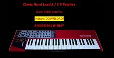 Clavia Nord Lead 2/2X - Patchbanks / Sounds – 3000+ patches - D0WNL0AD