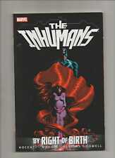 Inhuman: By Right Of Birth - TPB Black Bolt Medusa Cover - (Grade 9.2) 2013