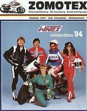 Zomotex Prospekt 1984 Wintex Motorradkleidung Motorradmode Mode Heinrich Zopf
