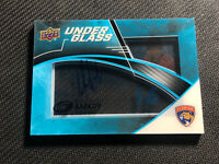 2019-20 UPPER DECK ICE ALEKSANDER BARKOV UNDER GLASS AUTO #UG-AB