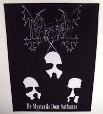 MAYHEM  DE MYSTERIIS DOM SATHANAS  BACK PATCH
