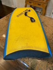 "Vintage Morey Mach 7 (7-SS) Boogie Board 43"" with Leash - Great Condition"