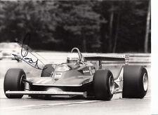 Jody Scheckter Hand Signed Scuderia Ferrari F1 9x6 Photo 1.