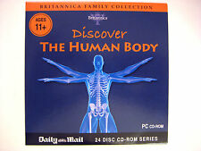 DISCOVER THE HUMAN BODY,  A THE DAILY MAIL NEWSPAPER PROMOTION (1 CDROM)