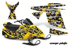 Snowmobile Graphics Kit Decal Sticker Wrap For Ski Doo Mini Z 03-08 CAMOPLATE Y