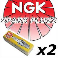 2x NGK SPARK PLUGS BP7ES 2412