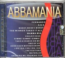 ABBAMANIA  CD  ABBA cover MADE in I TALY  1998  sealed 14 TRACKS