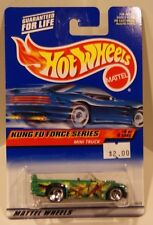 Hot Wheels 2000 Kung Fu Force Series #4 Mini Truck Old Card