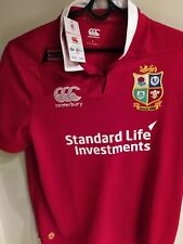 British & Irish Lions rugby union home shirt canterbury 2017 jersey size L Tags