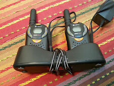 Cobra microTALK FRS104 Two Way Radio - One Pair - Working/Used