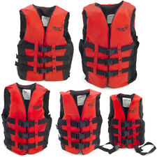 Adult Kids Jacket Vest Polyester Foam Swimming Boating Sailing buoyancy aid