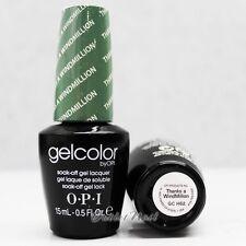 OPI GelColor GC H62 THANKS A WINDMILLION 15mL UV LED Gel Polish Sea Green Color