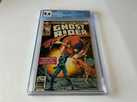 GHOST RIDER 41 CGC 9.6 WHITE PAGES 1ST JACKAL GANG COOL COVER MARVEL COMICS 1980