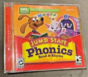 Scholastic Jump Start Phonics Read & Rhyme CD