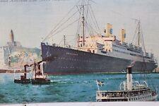 27422 PC Swedish american Line MS Gripsholm shih steamer AK Dampfer Schiff