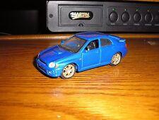 Friction Driven Pull Back Action Maisto 1/40 Subaru Impreza WRX STI Street Racer