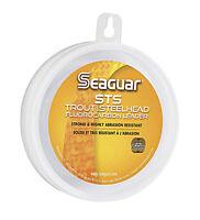 Seaguar Sts Fluoro Trout/Steelhead Leader Fishing Line 100 Yards Select Lb. Test