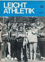 Leichtathletik Nr. 22/1983