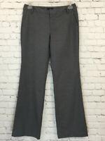 Gap Womens Favorite Trouser Fit Stretch Gray Boot Cut Dress Pants Size 6 Regular