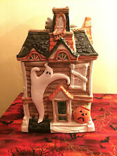 "Fitz & Floyd ""Haunted House Cookie Jar"" © Ff 1987 Halloween"