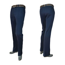 Mens Winter Padding Solid Golf Pants Soft Shell  thermal Stripe trousers