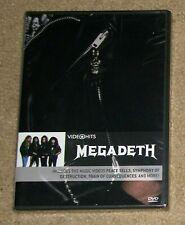 Megadeth Video Hits DVD New