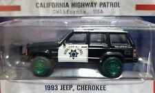 Green Machine 42960-B 1993 Cherokee California Highway Patrol Greenlight Chase