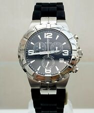 ROVINA Mens Watch SWISS MADE Chronograph Day& Date RRP £250 (820
