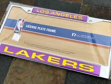 1 Los Angeles Lakers Chrome Laser Cut License Frame