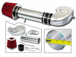 BCP RED 92-95 Chevy/GMC C/K Suburban Yukon Tahoe 5.7L V8 Ram Intake Kit+Filter