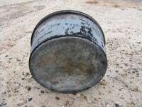 Smudge pot tank, used, for kerosene, diesel, heater, tank only
