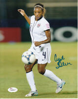 Crystal Dunn autographed signed U.S. Women's National Team 8x10 soccer photo JSA