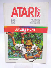 Anleitung - Handbuch - Bedienungsanleitung Atari - Jungle Hunt