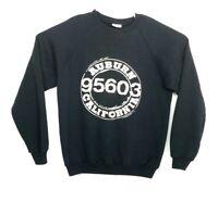 Hanes Mens XL Sweater VTG 90s 50/50 Auburn California Crewneck Pullover