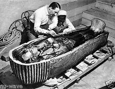 1922-The Opening of King Tutankhamen's Tomb in Egypt by Howard Carter