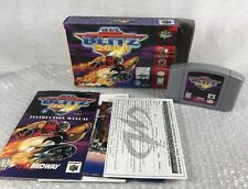 NFL Blitz 2000 Nintendo 64 N64 Complete In Box CIB Collectors Quality NM