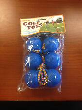 Brand New Franklin Golf Toss Blue Balls Set Of 3 Nip.