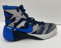 Nike Hyperdunk 2015 mens 9 Blue Black  Basketball Shoes 749567
