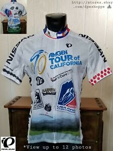 Pearl Izumi Elite 2013 Amgen Tour of California Race S/S Full Zip Jersey Sz 2XL