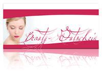 Gutscheinkarten Beauty Maniküre Schminken Kosmetik Pediküre Geschenkgutscheine