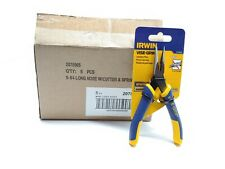 IRWIN 2078905 VISE-GRIP LONG NOSE WITH CUTTER AND SPRING 5 1//4 INCH