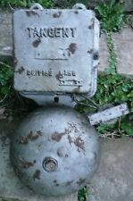 WW2 Grande Vintage Officina INDUSTRIALE ELETTRICO Tangente Allarme Porta Campana di fuoco