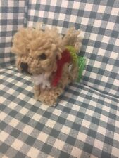 Chilly Dog Doodle,Labradoodle,goldendoodle Ornament All Wool Fair Trade New 2017
