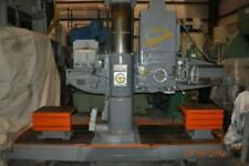 New listing 4′ x 13″ Cincinnati Bickford Radial Arm Drill Power Elevation 180 Double Sided