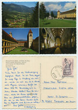 56909-Benedictine Abbey True-Postcard, walked Bishop Box 27.7.1970