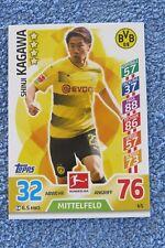 Panini Bundesliga Trading Card 2017 / 2018 Shinji Kagawa