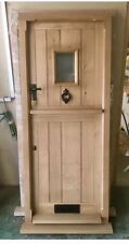 Solid Oak Stable Door, No Vat!!! Door Only