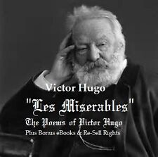 CD- Victor Hugo - Les Miserables - 12 eBooks (Resell Rights)